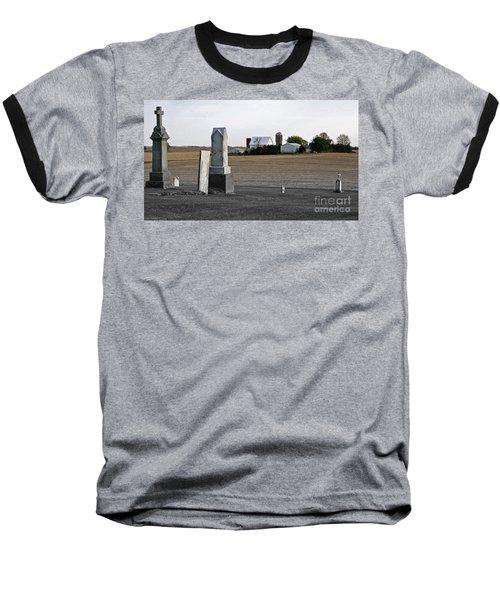 Ye Olde Farmstead Baseball T-Shirt by Sue Stefanowicz
