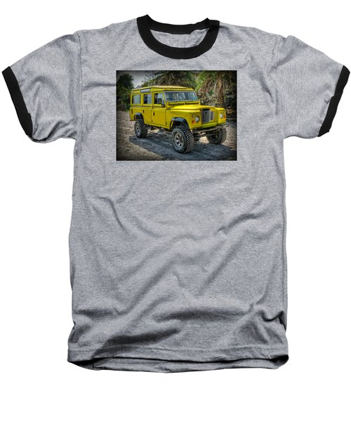 Yellow Jeep Baseball T-Shirt