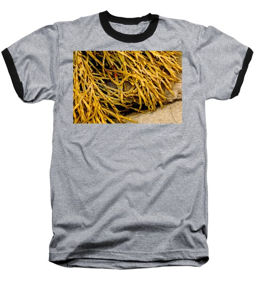 Baseball T-Shirt featuring the photograph Yellow Kelp by Brent L Ander