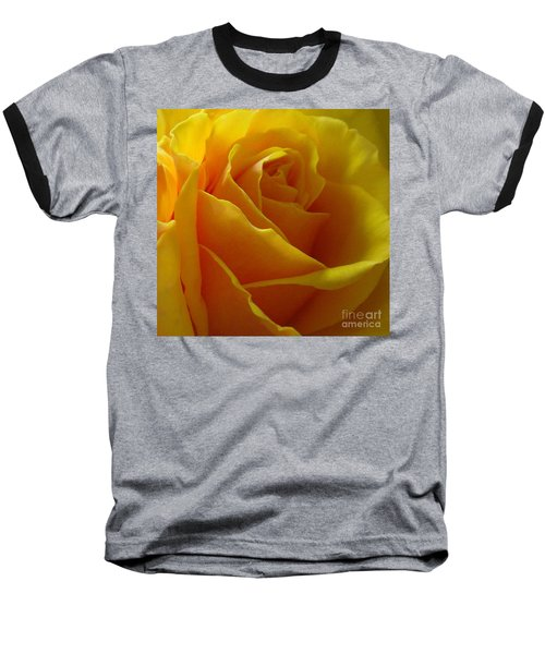 Baseball T-Shirt featuring the photograph Yellow Rose Of Texas by Sandra Phryce-Jones