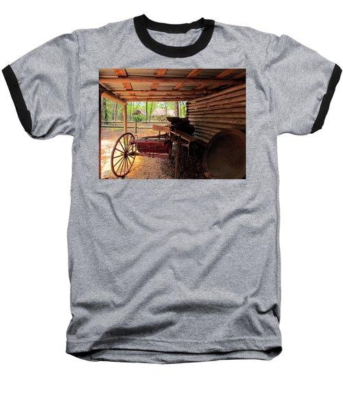 Yesterday Baseball T-Shirt by Judy Wanamaker