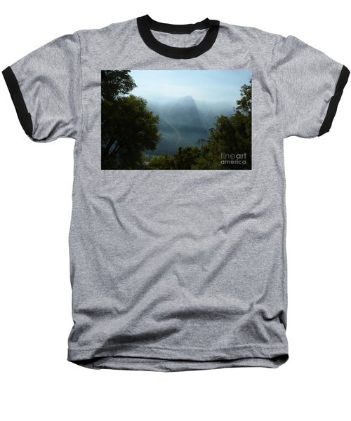 Yosemite Falls Hike Baseball T-Shirt