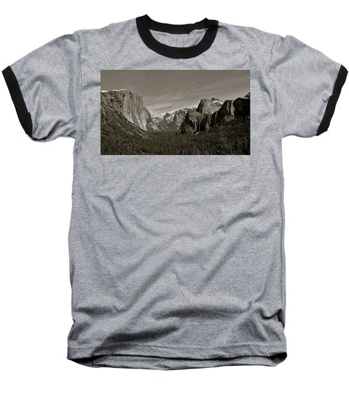 Baseball T-Shirt featuring the photograph Yosemite Valley by Eric Tressler