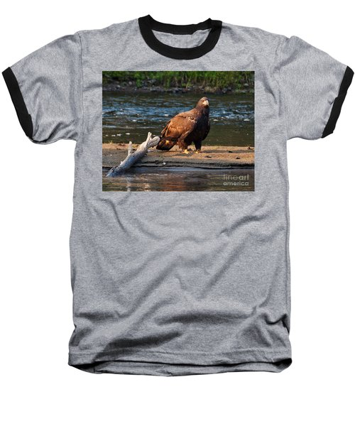 Baseball T-Shirt featuring the photograph Young And Wise by Cheryl Baxter