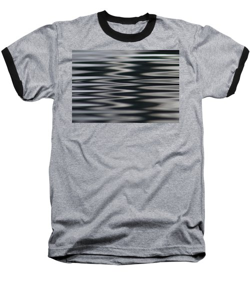 Zebra Waters Baseball T-Shirt by Cathie Douglas