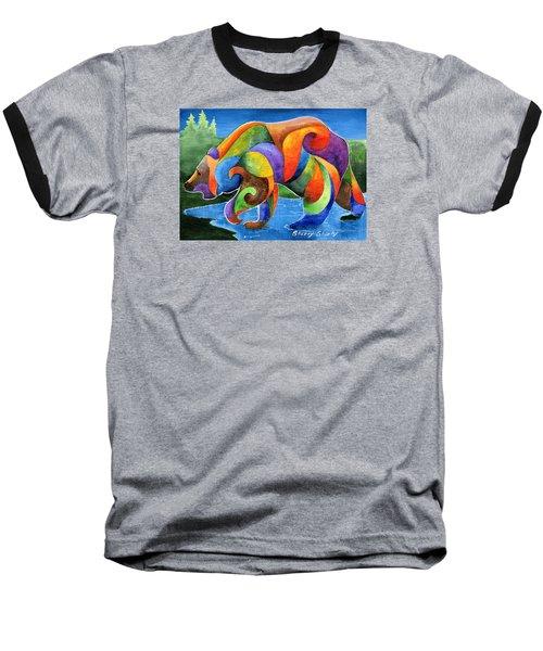 Zen Bear Baseball T-Shirt