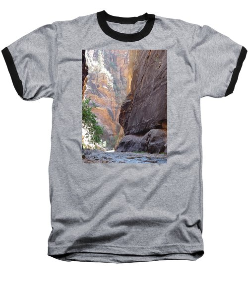 Baseball T-Shirt featuring the photograph Zion Awe by Elizabeth Sullivan