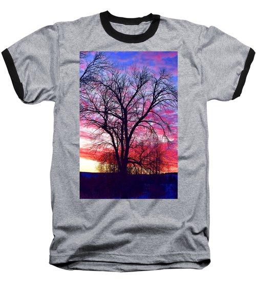 -11 Sunrise Baseball T-Shirt by Dacia Doroff