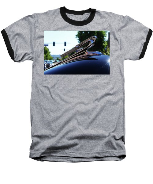 1941 Cheverolet Hood Ornament Baseball T-Shirt by Ansel Price