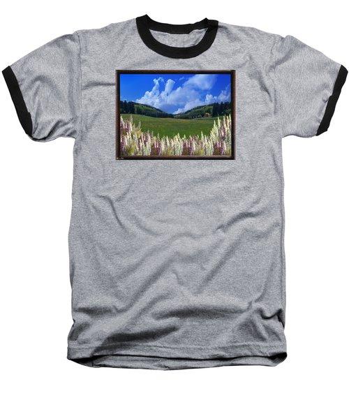 Baseball T-Shirt featuring the photograph  A Beautiful View by Bernd Hau