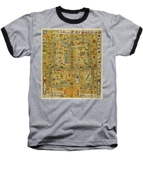 A Map And History Of Peiping Baseball T-Shirt