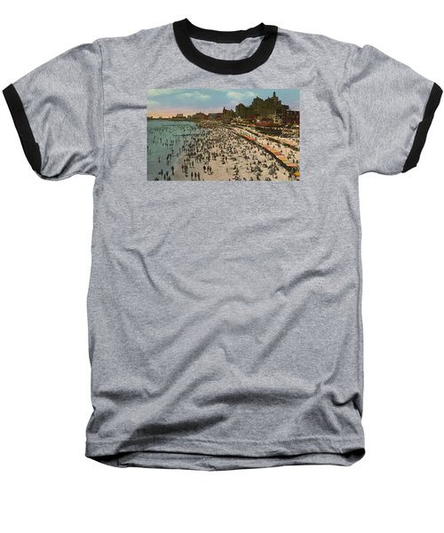 Atlantic City Spectacle Baseball T-Shirt by Unknown