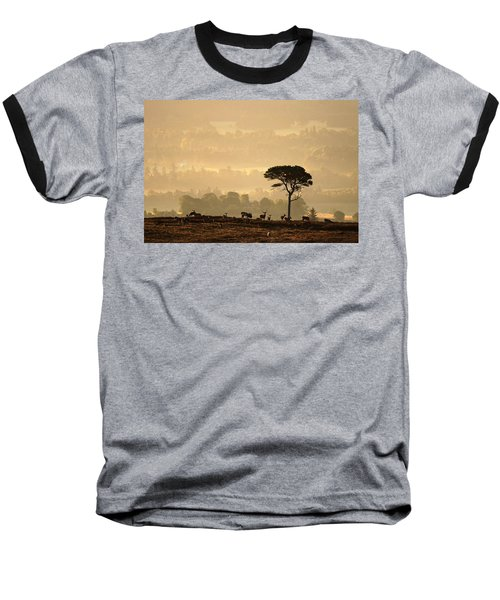 Autumn Morning, Strathglass Baseball T-Shirt