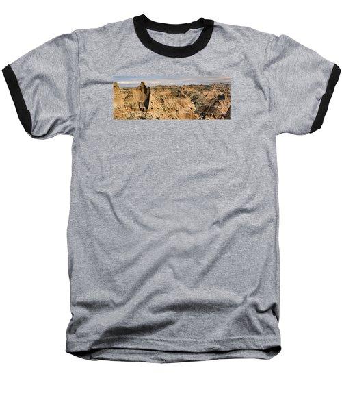 Badlands South Dakota Baseball T-Shirt by John Hix