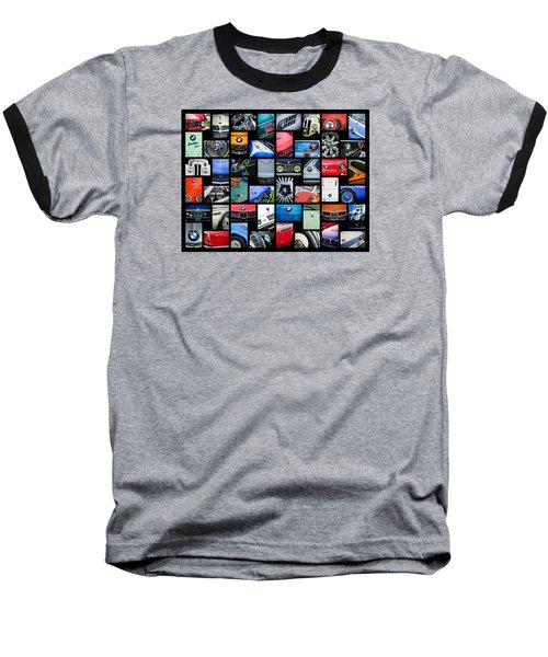 Bmw Art -01 Baseball T-Shirt by Jill Reger