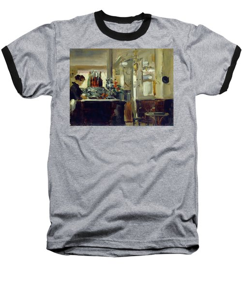 Bon Bock Cafe Baseball T-Shirt