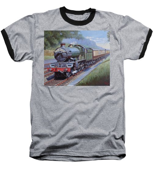 Castle Class In Sonning Cutting Baseball T-Shirt by Mike  Jeffries