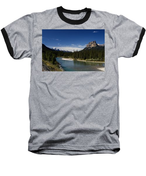 Castle Mountain 1 Baseball T-Shirt