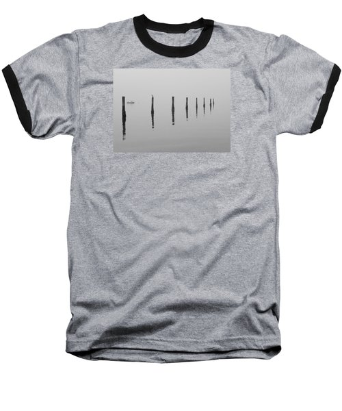Fog And Reflections Baseball T-Shirt