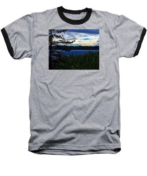 Chrystal Blue Waters Baseball T-Shirt by B Wayne Mullins