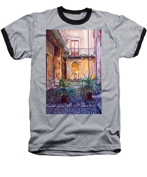 Courtyard Baseball T-Shirt