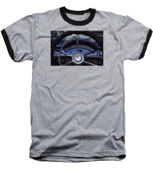 Cuba Car 6 Baseball T-Shirt by Will Burlingham