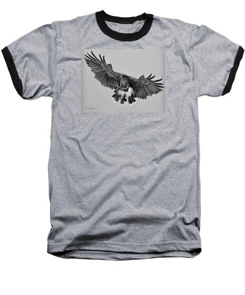Da181 Harris's Hawk By Daniel Adams Baseball T-Shirt