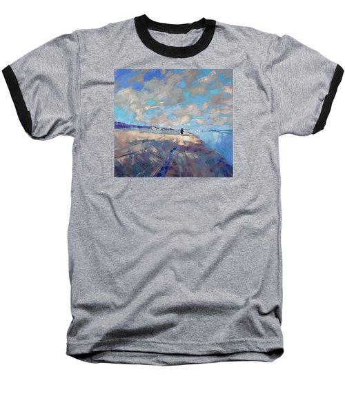 Eternal Wanderers Baseball T-Shirt by Anastasija Kraineva