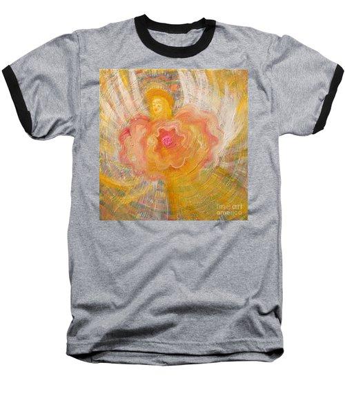 Flower Angel Baseball T-Shirt