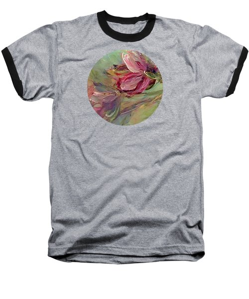 Flower Blossoms Baseball T-Shirt by Mary Wolf