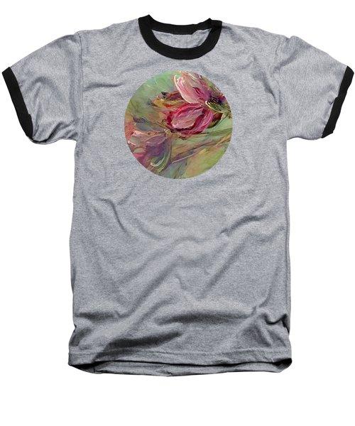 Flower Blossoms Baseball T-Shirt