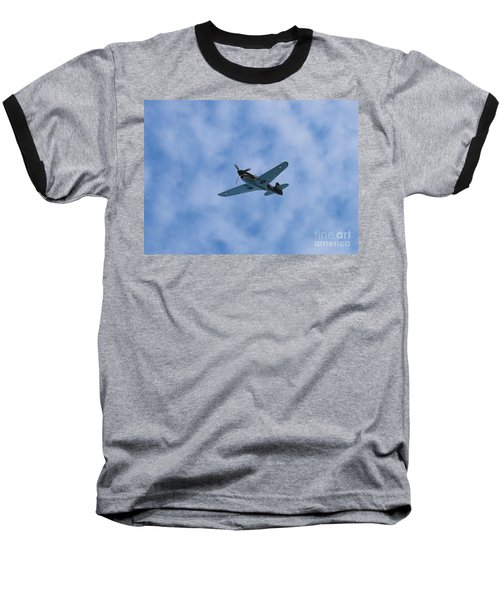 Fly Tiger 2 Baseball T-Shirt