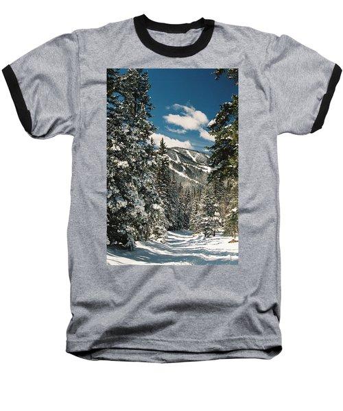 Fresh Powder Baseball T-Shirt