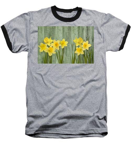 Fresh Spring Daffodils Baseball T-Shirt