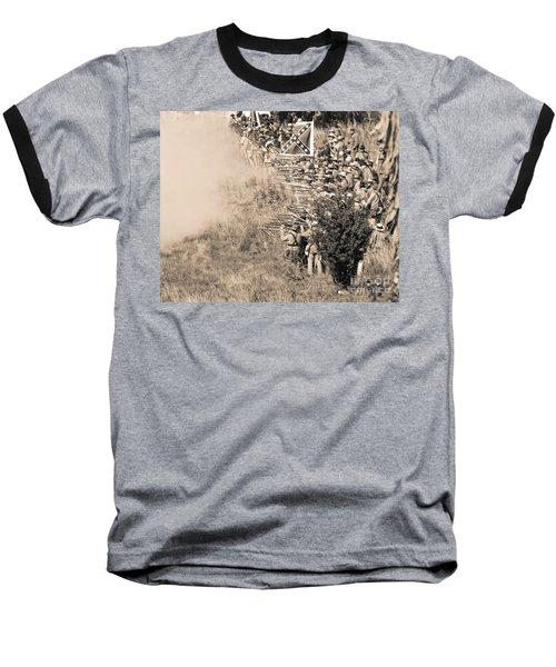 Gettysburg Confederate Infantry 8769s Baseball T-Shirt