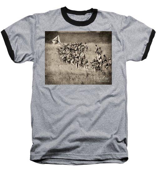 Gettysburg Confederate Infantry 9015s Baseball T-Shirt