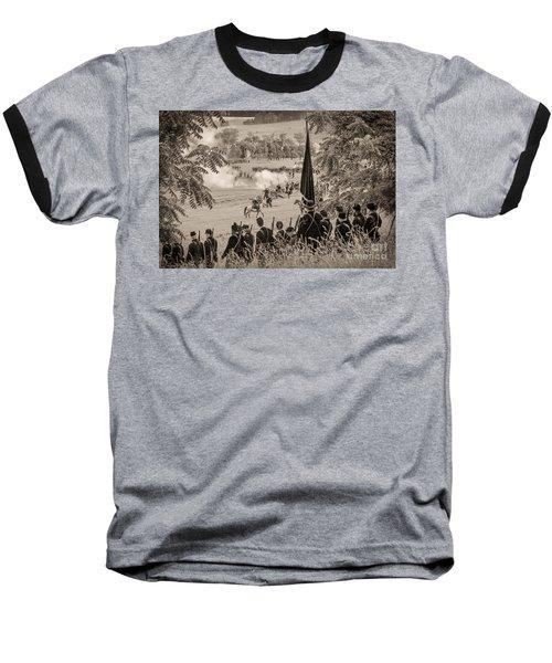 Gettysburg Union Artillery And Infantry 7457s Baseball T-Shirt