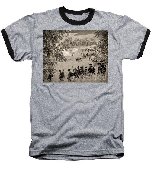 Gettysburg Union Artillery And Infantry 7465s Baseball T-Shirt