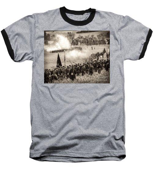 Gettysburg Union Artillery And Infantry 7496s Baseball T-Shirt