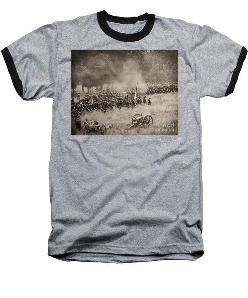 Gettysburg Union Artillery And Infantry 8456s Baseball T-Shirt