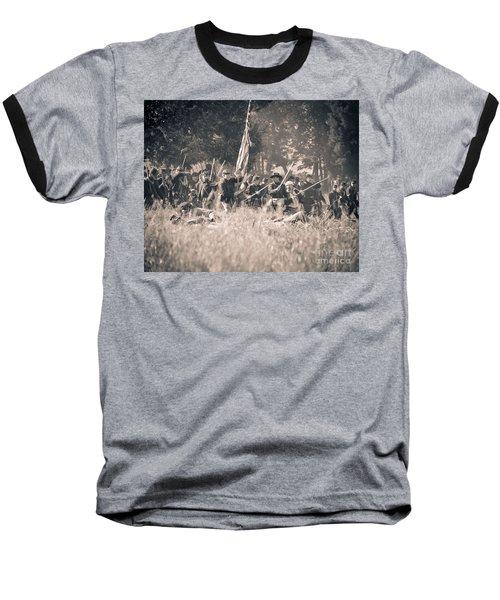 Gettysburg Union Infantry 9348s Baseball T-Shirt