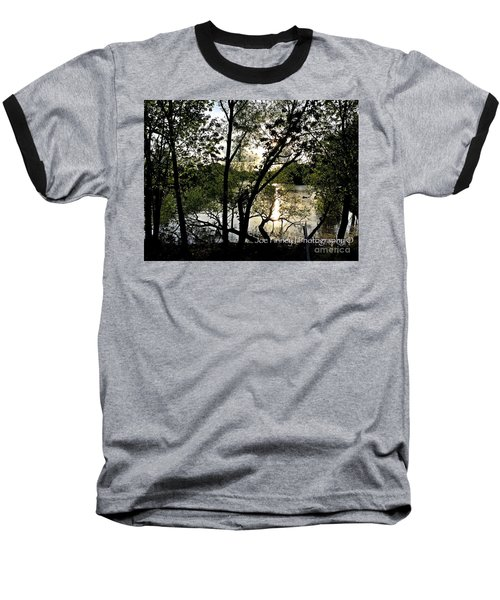 Baseball T-Shirt featuring the photograph  In The Shadows  - No. 430 by Joe Finney