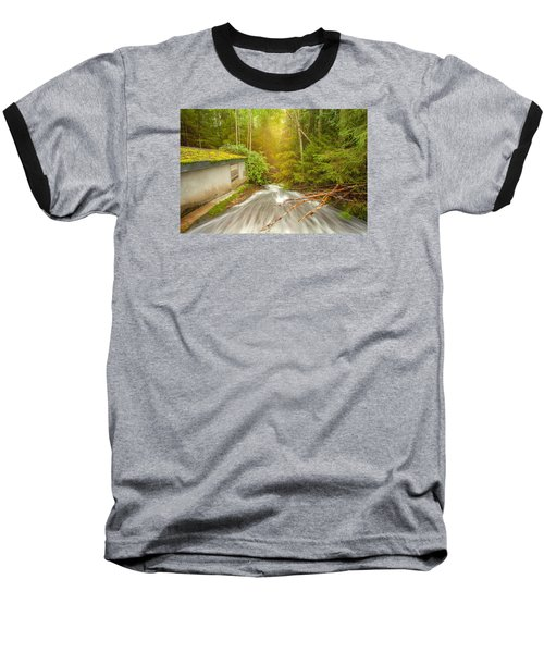 Baseball T-Shirt featuring the photograph  In The Woods by Rose-Maries Pictures