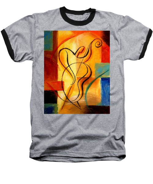 Jazz Fusion Baseball T-Shirt