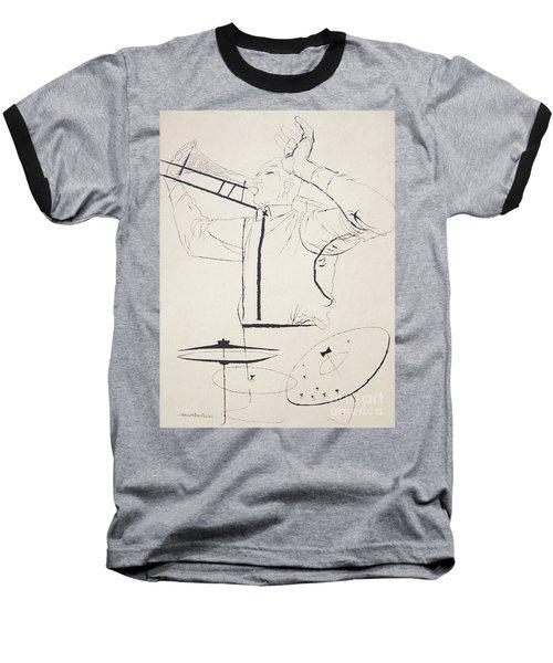 Jazz Image Baseball T-Shirt by Reproduction