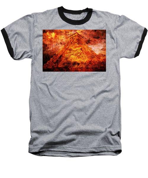 C H I C H E N  .  I T Z A .  Pyramid Baseball T-Shirt