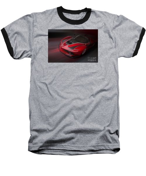 La Ferrari Fxx K Baseball T-Shirt by Roger Lighterness