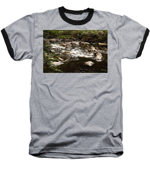 Little Stream At The Hermitage Baseball T-Shirt by Martina Fagan