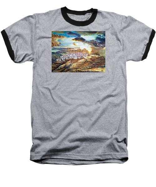 Moving Clouds Baseball T-Shirt