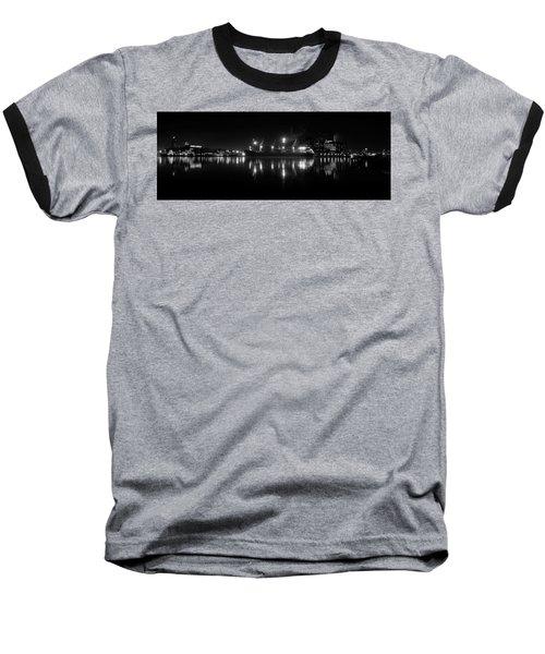 Point Lights Bw Baseball T-Shirt